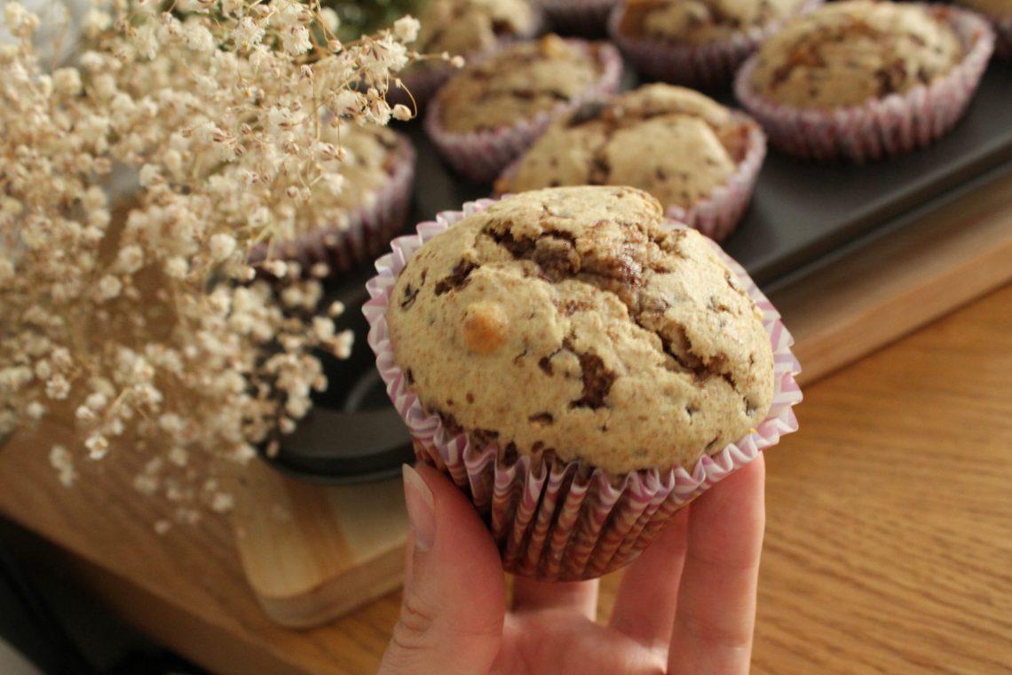 przepis muffinki z czekoladą
