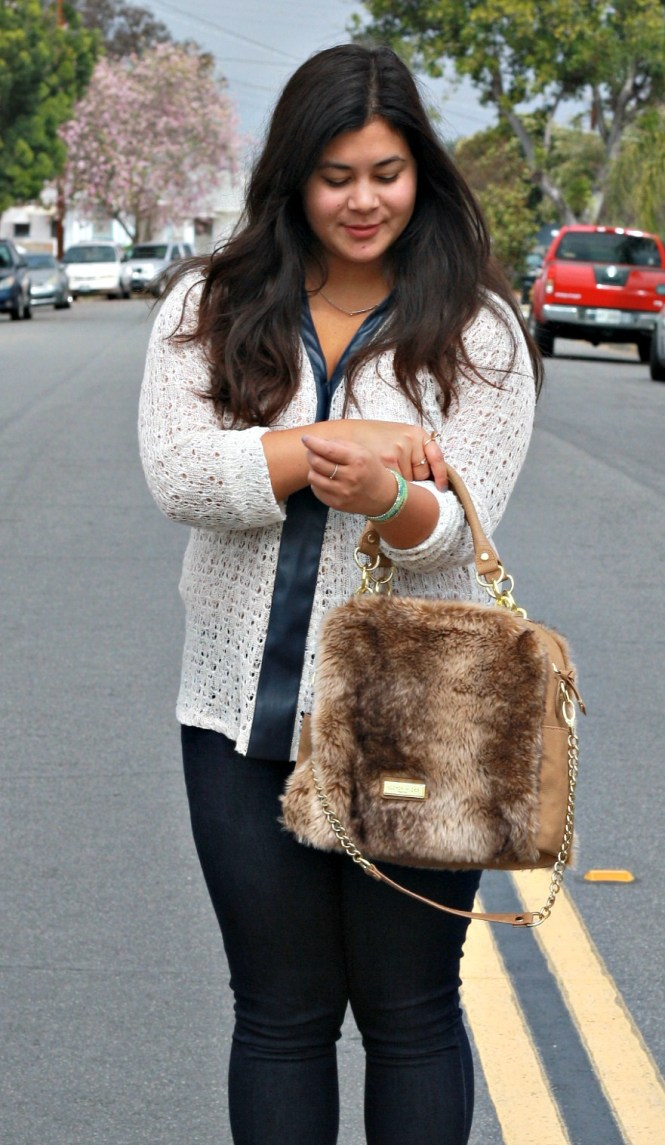 neutral Mesh style sweaters