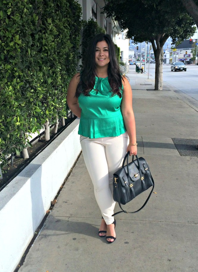 Luckyfabb LA blogging conference outfit