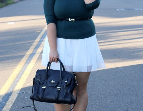 tulle holiday outfit