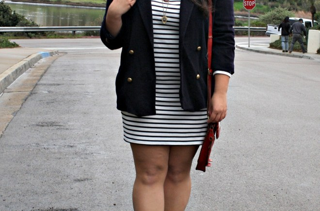 striped-navy-white-dress-plus-size