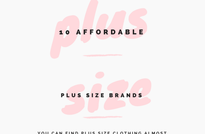 where to shop for plus size clothing