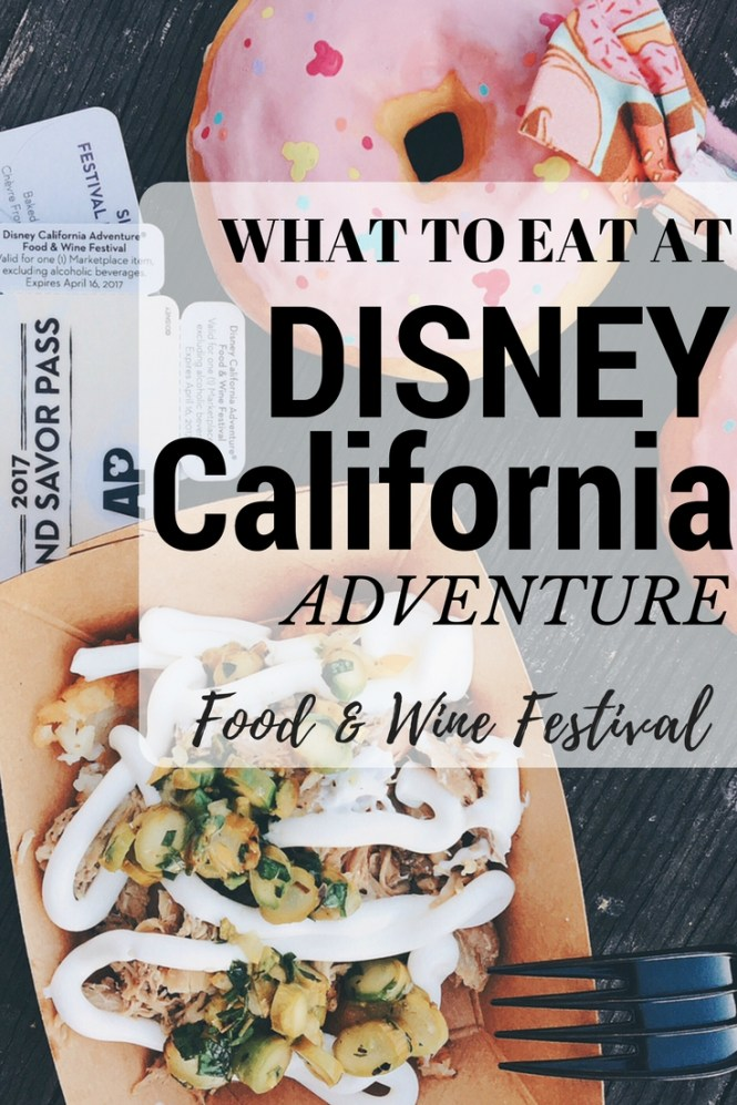 Disney California Food & Wine Festival