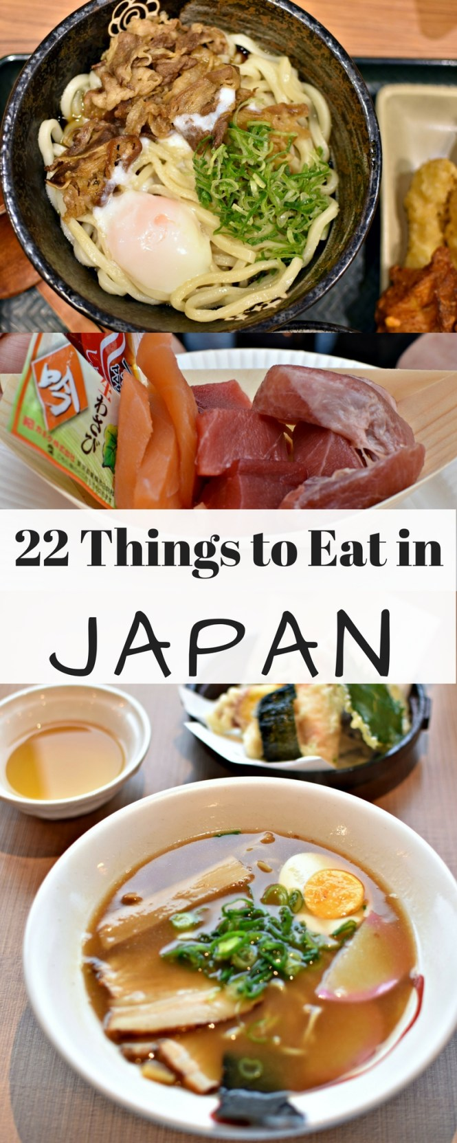 Japanese food to eat