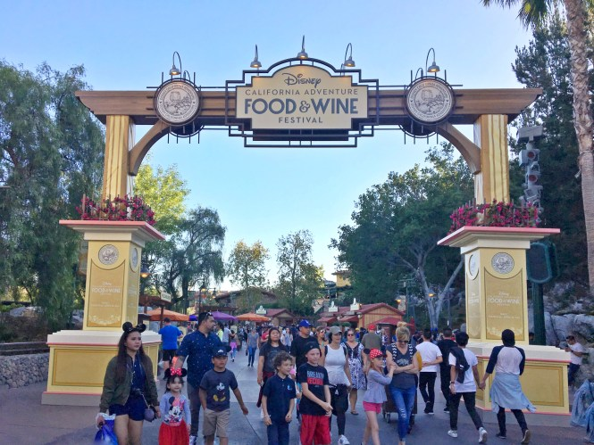 Disney california food wine festival