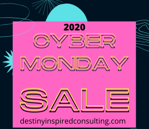 2020 cyber monday business coaching deal