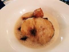 Fisch mit Roter Beete - Hauptspeise Menü (insg. 12€)
