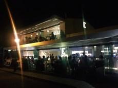 Das Restaurant bei Nacht