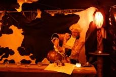 ISARBAROCK Villa Floßlaende - der Empfang im Zelt