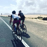 long ride to Corralejo