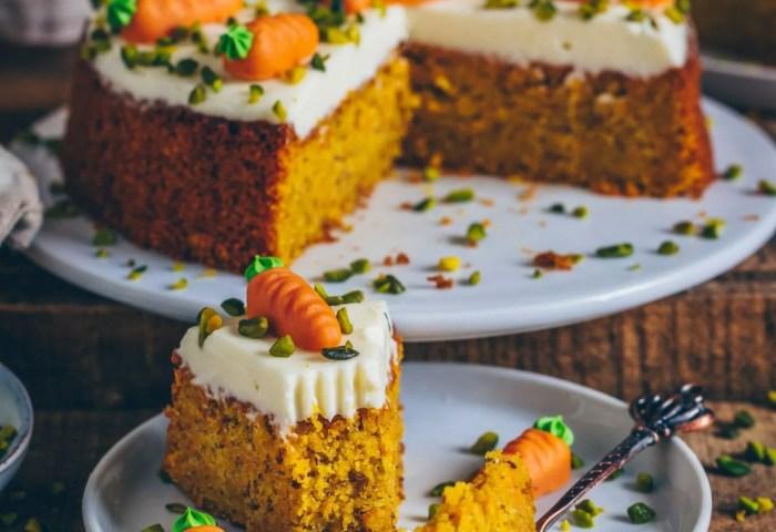 Carrot Cake Vegan Easy Recipe Bianca Zapatka Foodblog