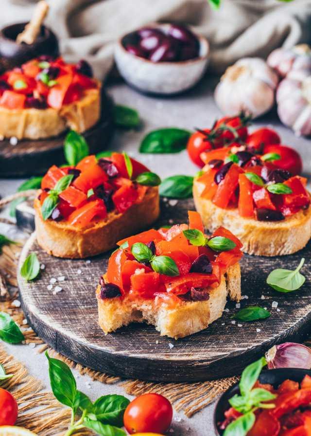 Vegan Bruschetta Recipe