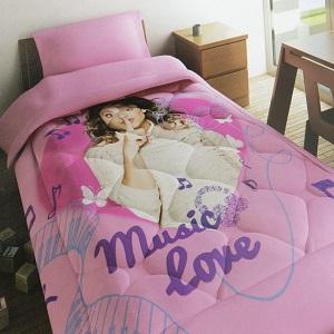 La coperta ha misura per letto ad 1 piazza ed è disponibile nel colore come da foto. Disney Quilt Trapunta Di Violetta Per Letto Singolo Biancheria Da Favola