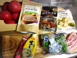 ホンマでっかの高野豆腐カレー材料
