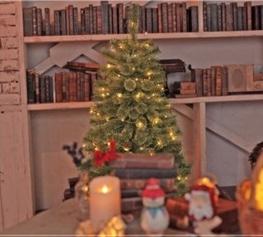 クリスマスツリーの高さサイズ画像