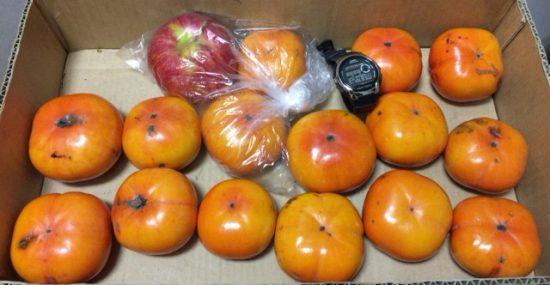 柿の追熟画像