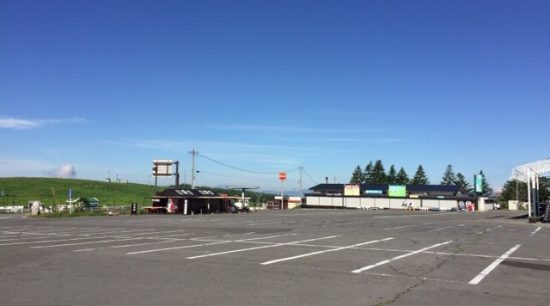 ビーナスライン霧ヶ峰旅の駅駐車場混雑状況画像
