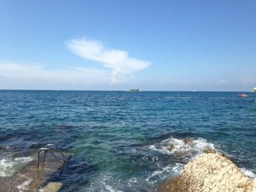 porec spiaggia mare plava laguna
