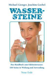 Buch Wassersteine von Michael Gienger und Joachim Goebel