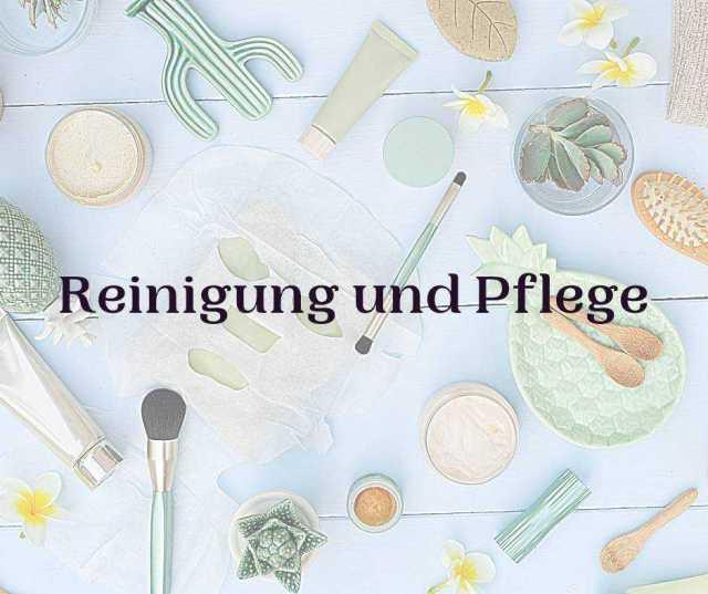 Natur Kosmetik Reinigung Peeling
