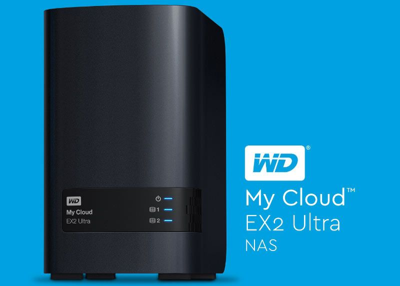 WD® My Cloud EX2 Ultra Series 16TB Network Attached ...