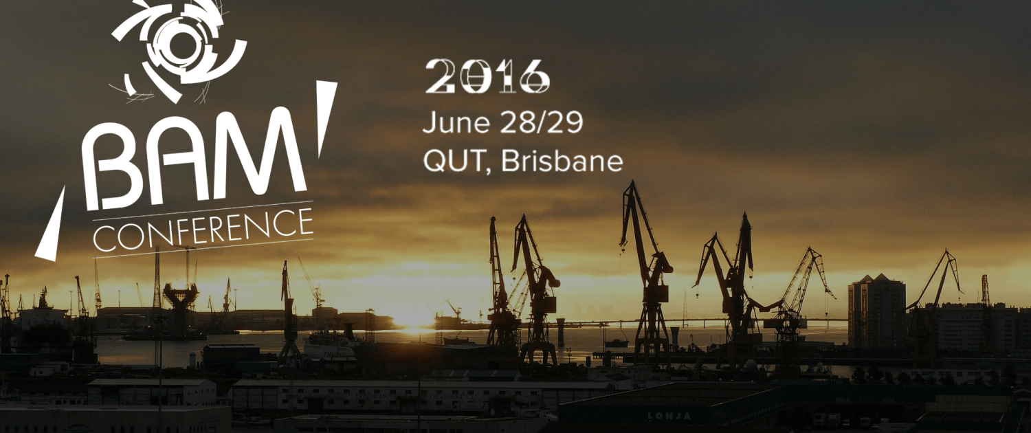 Supply Chain, Logistics and Mining at BAM 2016