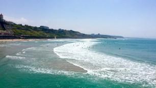 Beach Côte des Basques