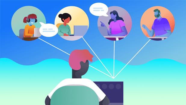 connecter virtuellement