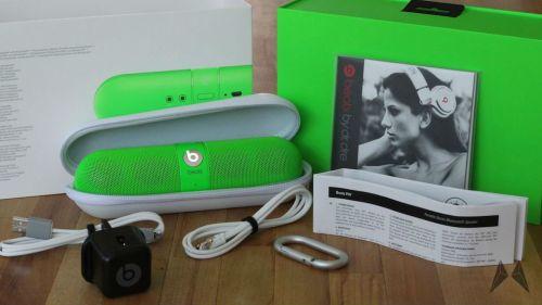 Original Lime Green Beats Pill Bluetooth Speaker Limited Edition