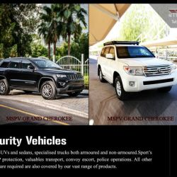Personal Security Vehicle