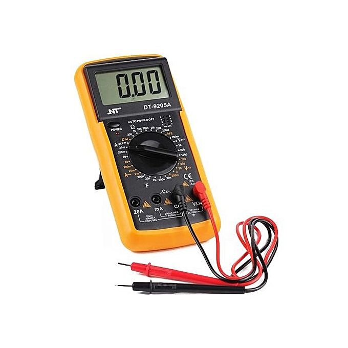 Mwwb Tour With Ohmms In February: Generic Digital Multimeter LCD AC/DC Ammeter Resistance