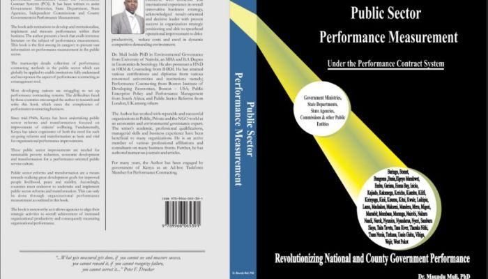 Public Sector Performance Measurement Book by Dr. Maundu Muli, PHD