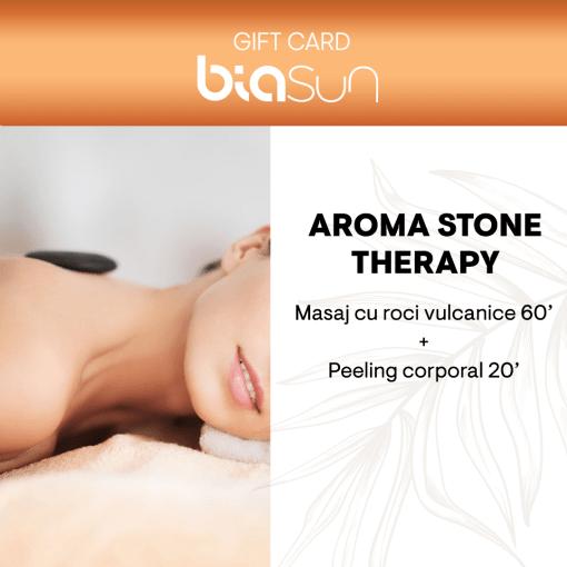 CARD CADOU SPA: AROMA STONE THERAPY