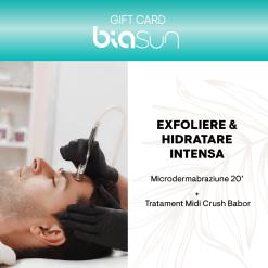 CARD CADOU TRATAMENT FACIAL: EXFOLIERE & HIDRATARE INTENSA