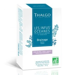 Thalgo Organic Draining Infusion Ceai drenaj purificare plante si alge, 20x1, 6gr