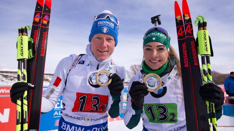 Lukas Hofer, Dorothea Wierer et l'ensemble de la sélection italienne ont pris la direction de l'Autriche pour rechausser les skis sur le glacier du Dachstein - IBU