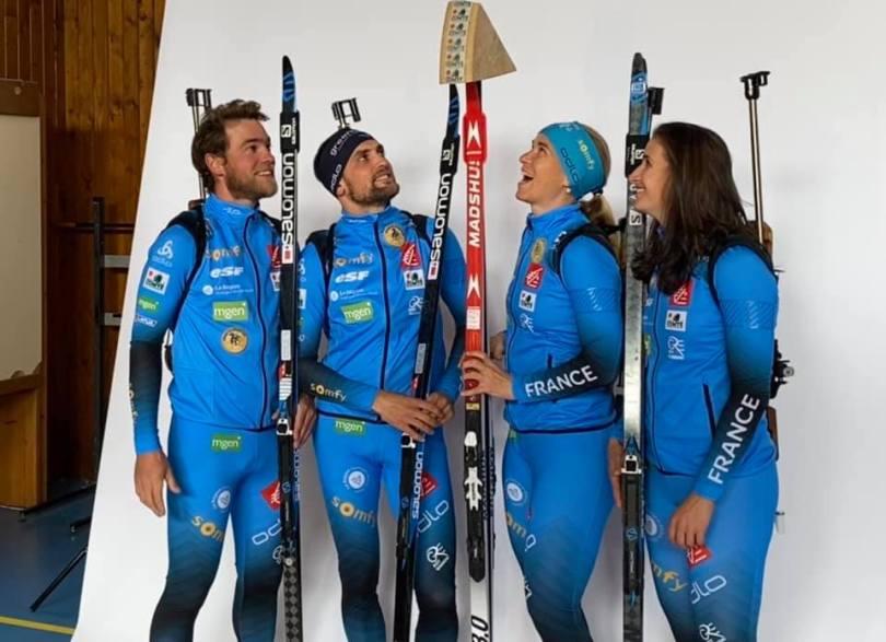 Facebook Équipe de France de biathlon