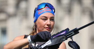 Dorothea Wierer - City Biathlon / Biathlon Live via Julien Klein