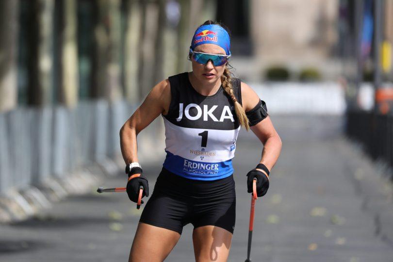 Dorothea Wierer - City Biathlon Live via Julien Klein