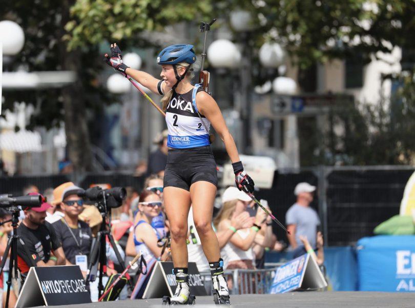 Ingrid Tandrevold - City Biathlon Wiesbaden - Julien Klein