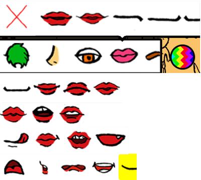 LikeMe:口の種類