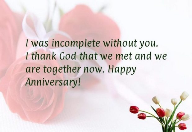 Happy Anniversary Messages for Soulmate