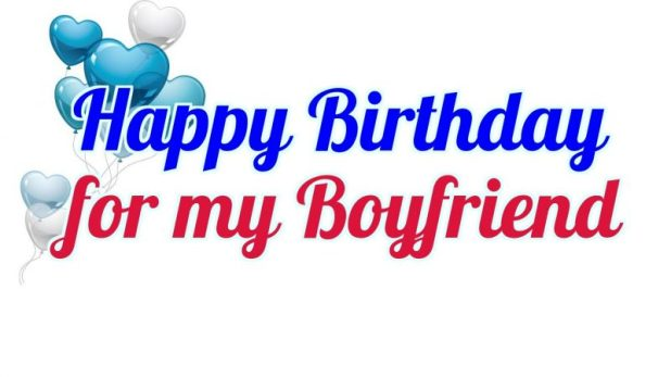 Happy Birthday Messages for Boyfriend