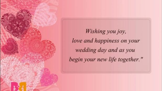 Wedding Card Messages for Parent