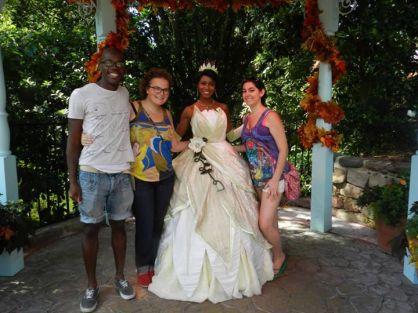 tiana, princess and the frog, disney princesses, magic kingdom, walt disney world