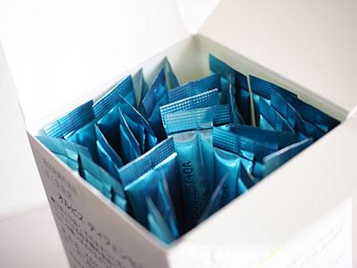 ディフェンセラの箱の蓋を開けたところ