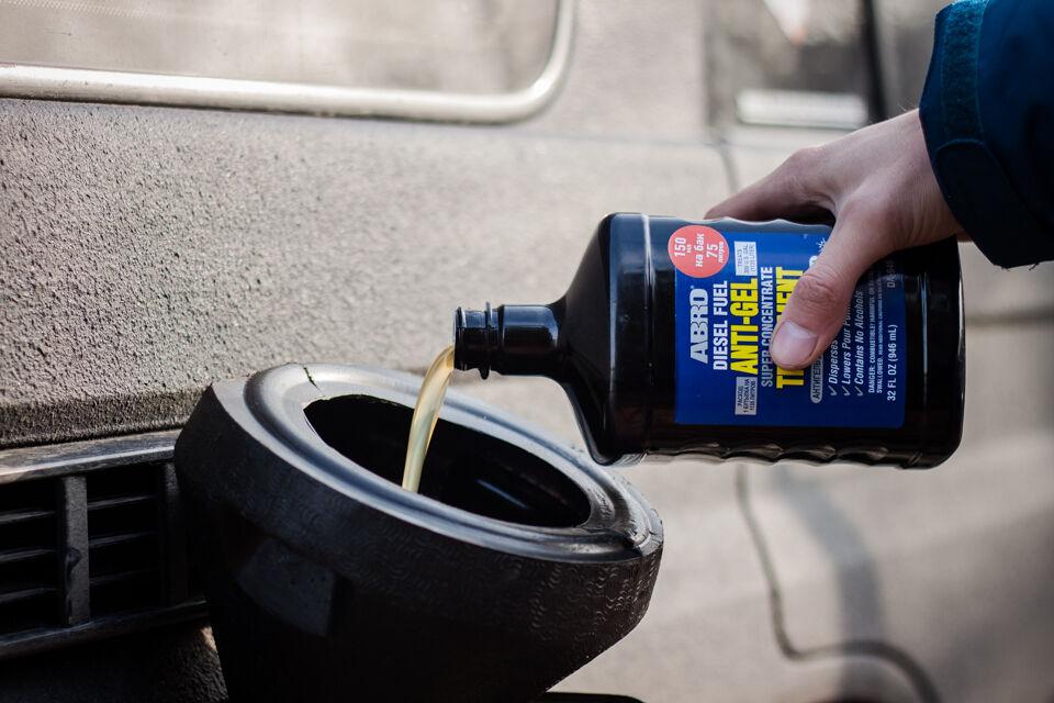 Sådan starter du en diesel i frosten (hovednøgle)
