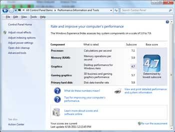 Как посмотреть характеристики ноутбука