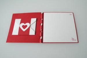 Scrapbooking Hochzeitskarte rot_2
