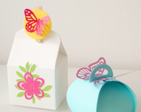 Papeterie Verpackung Frühling